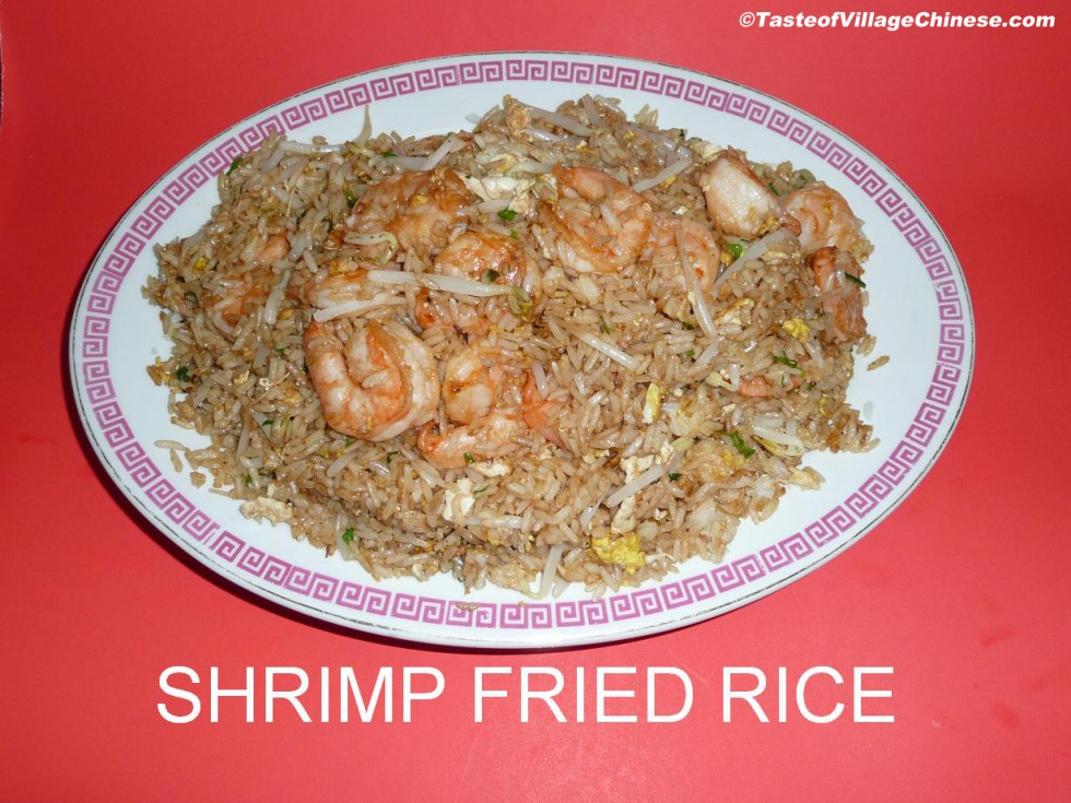 Special Fried Rice With Shrimp And Chicken Recipe — Dishmaps